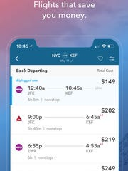 The Skiplagged app can help you find a cheaper route to fly.