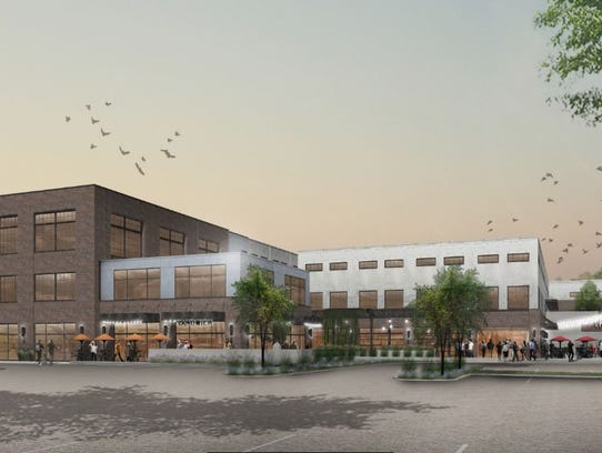A rendering of The Millworks on Charlotte creative