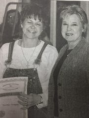 Tammy Dempsey, left, was honored by the Union County
