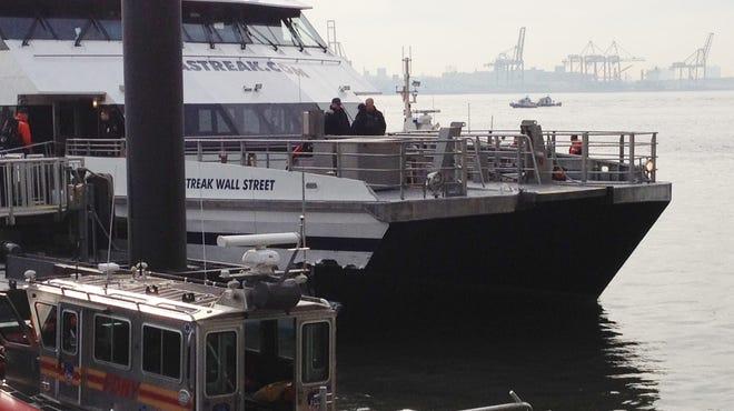 The high-speed commuter ferry Seastreak Wall Street slammed into a New York dock on Jan. 9, 2013, injuring 80 people, authorities said.