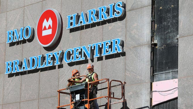 The BMO Harris Bradley Center will be demolished to create a future commercial development site.