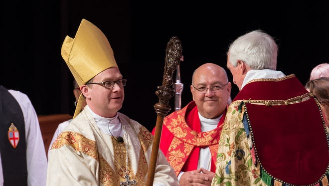 Kevin Brown was ordained and consecrated as the 11th bishop of the Episcopal Diocese of Delaware on Saturday during a ceremony at Delaware State University.