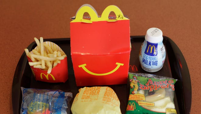 Pittsburgh authorities arrested a 26-year-old McDonald's worker on charges of selling heroin in Happy Meal boxes.