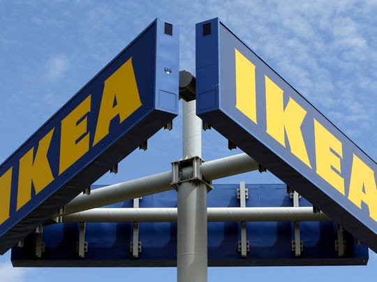 This Wednesday, June 3, 2015, file photo shows an Ikea store in Miami.