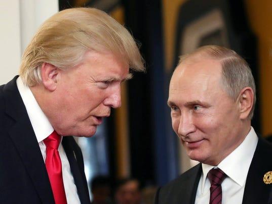 Trump meets Putin in Vietnam