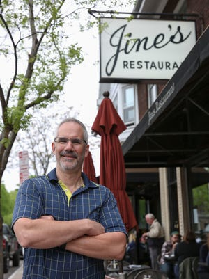Peter Gines is the second generation owners of Jines Restaurant, 658 Park Avenue.