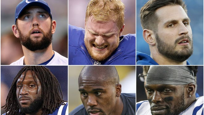 The Indianapolis Colts have sent 16 players to injured reserve this season, the most of the Chuck Pagano era.