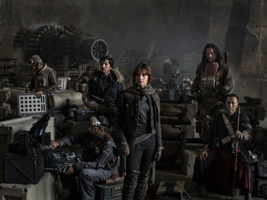 """The rebel crew in """"Rogue One: A Star Wars Story."""""""