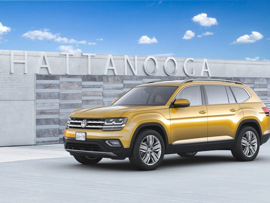 Volkswagen started production of the Atlas in December at its Chattanooga plant.