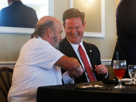 Despite being political rivals, Tallahassee mayor candidates