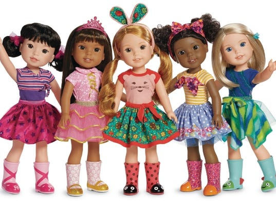 American girl debuts new welliewishers line for girls ages 5 to 7