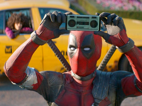 "Ryan Reynolds stars in ""Deadpool 2,"" playing at Regal"