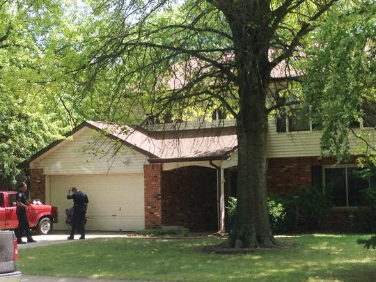 IMPD is on the scene of a fatal shooting Monday in the 8700 block of Gunpowder Drive on the Northeastside.