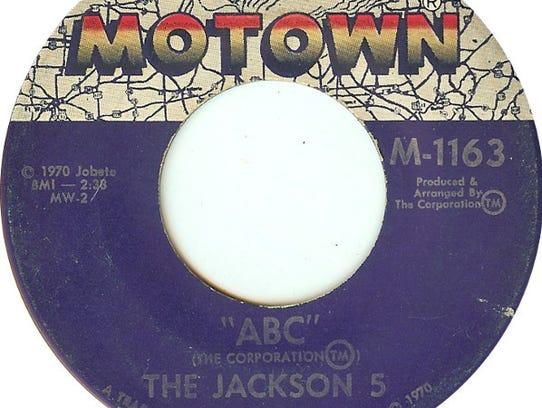 "The Jackson 5's 1970 single ""ABC"" on Motown Records."
