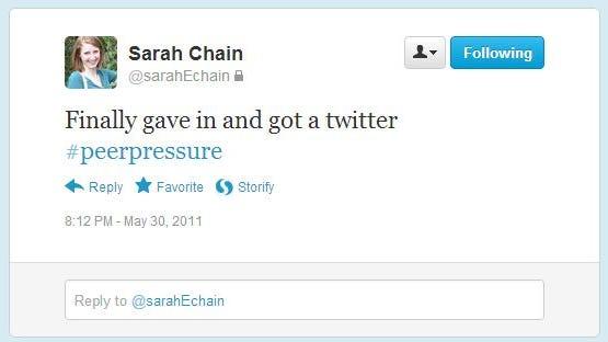 sarahfirsttweet
