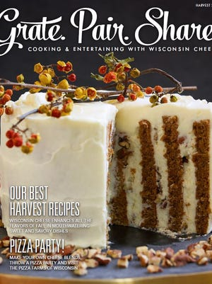 The new Harvest issue ofGrate. Pair. Share., an online magazine from theWisconsin Milk Marketing Board(WMMB), is filled with ways to celebrate the harvest season with Wisconsin cheese.