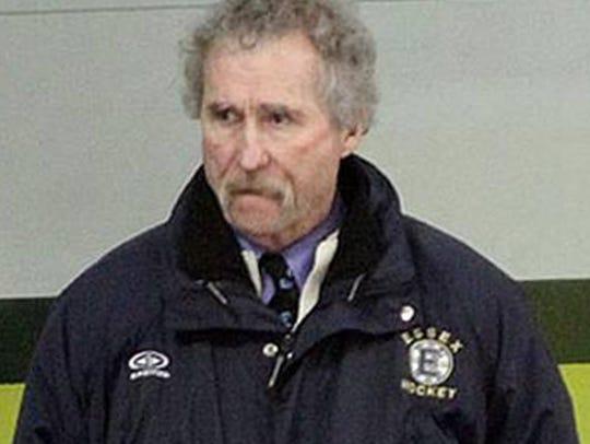 Essex boys hockey coach Bill OÕNeil has been placed