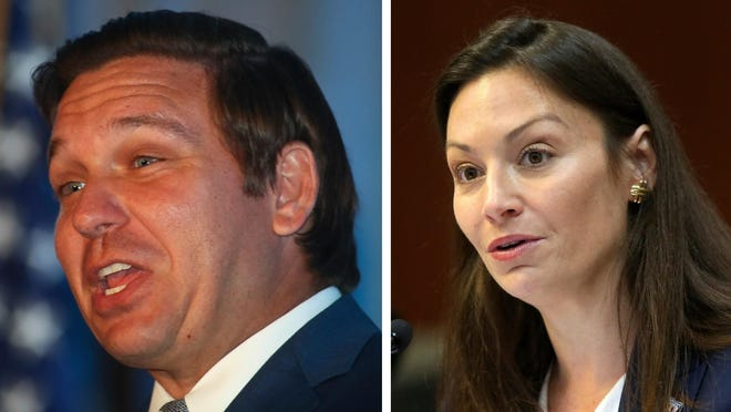 Florida Gov. Ron DeSantis and Agriculture Commissioner Nikki Fried were featured speakers at the Florida Citrus Industry Annual Conference in Bonita Springs on Thursday.