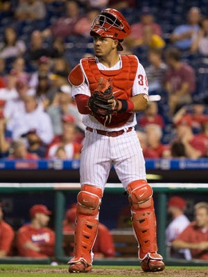 Philadelphia Phillies catcher Jorge Alfaro is only one of four Colombians currently playing in the majors, joining the White Sox's Jose Quintana, the Braves' Julio Teheran and the Yankees' Donovan Solano.