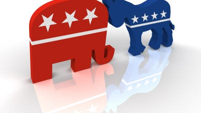 Liberals and Conservatives differ in consumer spending.