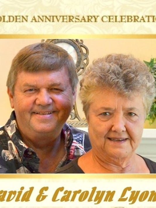 Anniversaries: David Lyon & Carolyn Lyon