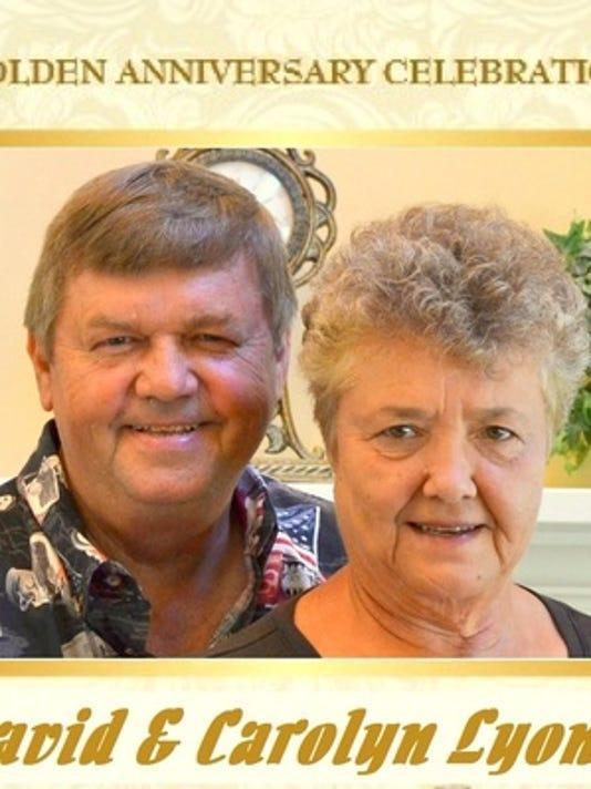 Anniversaries: David Lyon & Carolyn Lyon