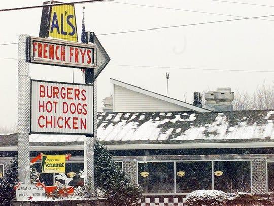 Al's French Frys in South Burlington.