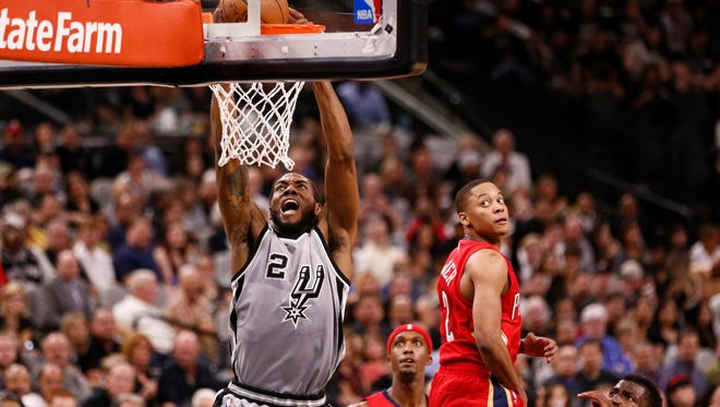 It probably should not be a surprise that Kawhi Leonard and the Spurs have rolled to a 4-0 start.