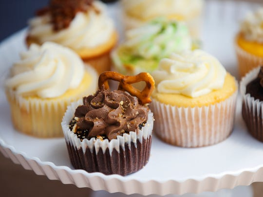 Cupcakes from Breaking Bread Company were among the