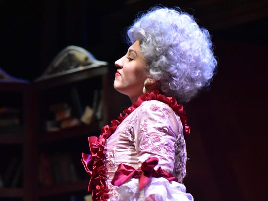 Amelia Pena stars as Marie Antoinette in the Binghamton