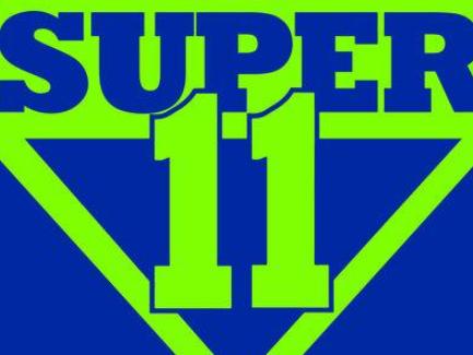Super 11 logo.