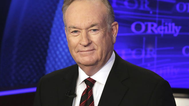 """The ratings for Bill O'Reilly's Fox News Channel program """"The O'Reilly Factor,"""" went up despite reports detailing payouts made to settle accusations against him of sexual harassment and other inappropriate behavior."""