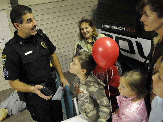 Sgt. Bruce Jacobs of the Manitowoc Police Department