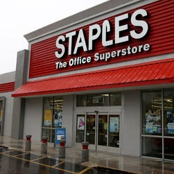 A Staples store in Miami.