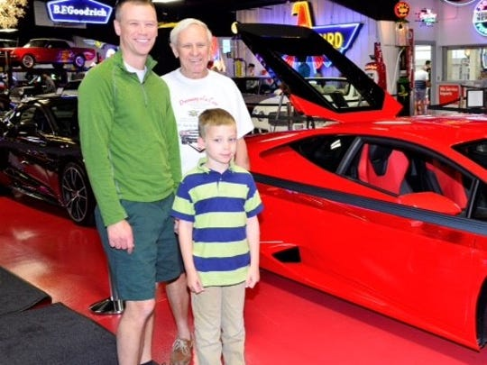 Fighters for a cure The Fighters for a Cure team held a fundraiser at the Dream Car Museum recently to raise funds for the American Cancer Society's mission of finding more treatments and cures for all types of cancer. Three generations of Kens participated for this worthy cause. From left is Dr. Ken Dilger, Jr., his father Dr. Ken Dilger, Sr., a cancer survivor and grandson, Ken Dilger, III.