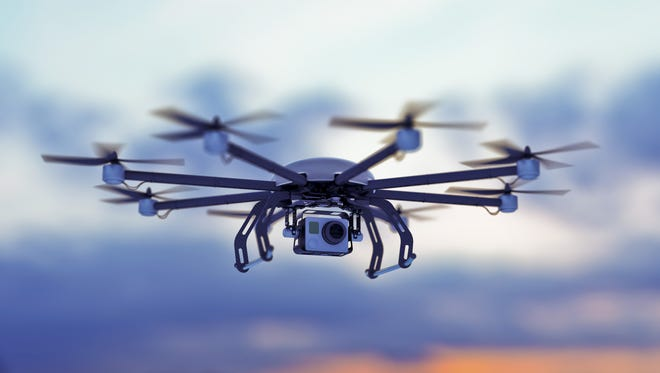 An online video of a Kansas man fishing by drone is getting lots of viewership. But wildlife officials say it's not something you'd want to try in Nevada.