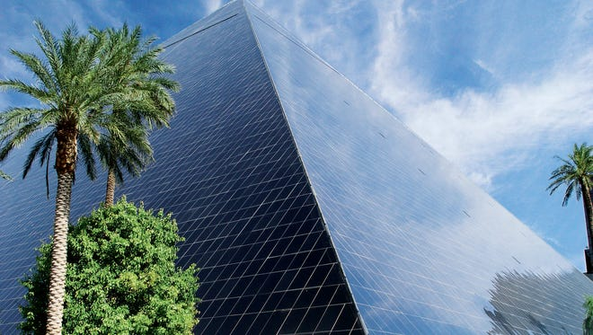 The Luxor Hotel and Casino is the second most popular hotel in Priceline history.