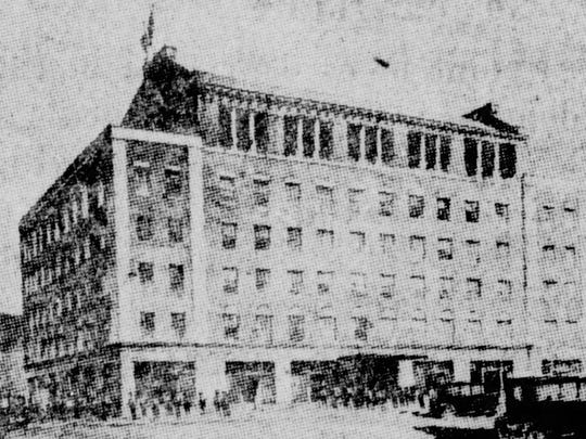 The Virginia Hotel opened in 1925.
