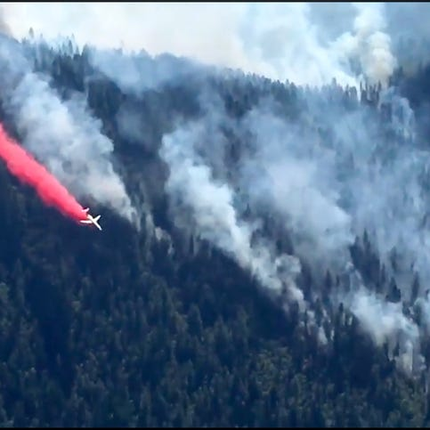 Southern Oregon wildfires bring 'unhealthy' air quality, spark evacuations in four regions
