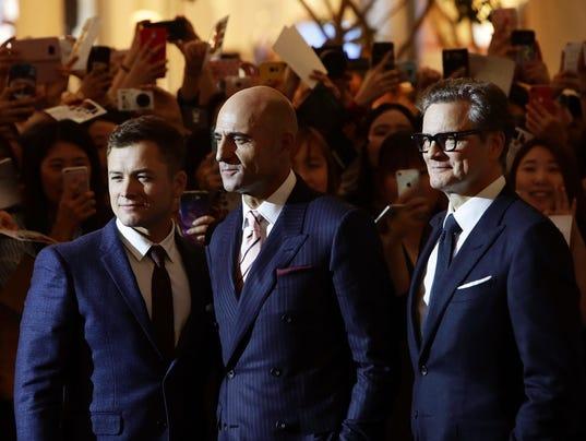 'Kingsman: The Golden Circle' Seoul Premiere
