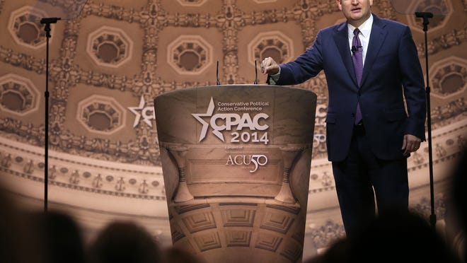 Sen. Ted Cruz, R-Texas, fired up the audience at the recent 2014 Conservative Political Action Conference.