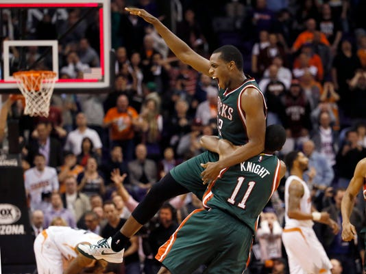 Khris Middleton, Brandon Knight