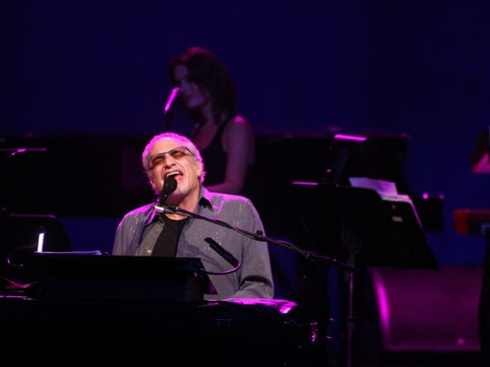 Donald Fagen of Steely Dan, pictured at the Count Basie Theatre in Red Bank on Sept. 3, 2014.