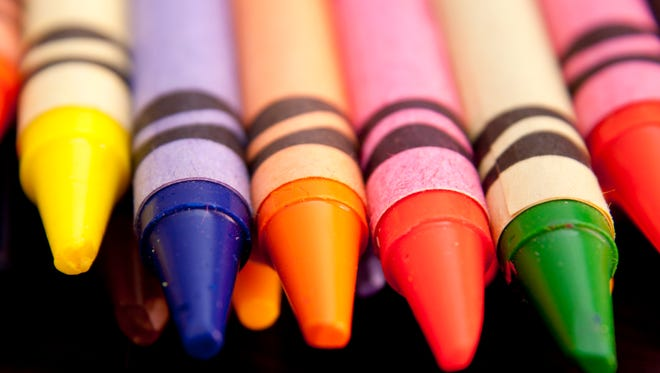 crayons - back to school