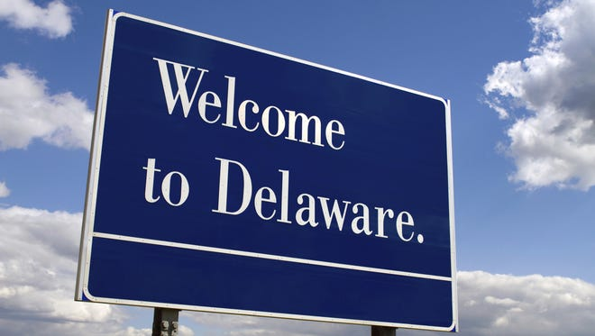 That's the thing about Delaware – you can't escape the politicians.