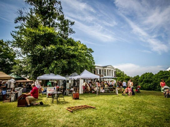 The Swanky Plank Vintage Marketplace draws a crowd to the historic grounds of Rippavilla in Spring Hill every year.