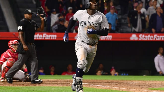 Didi Gregorius is among a group of middle infielders powering up, and he's powered the Yankees into a tight race with the Red Sox.