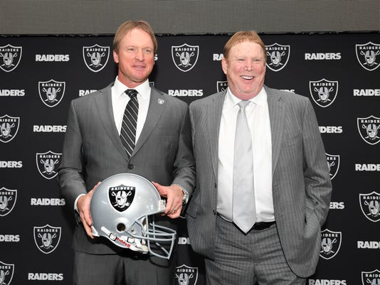 NFL: Oakland Raiders-Jon Gruden Press Conference