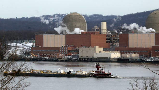 The Indian Point Energy Center nuclear power plantin Buchanan Jan. 9, 2017.
