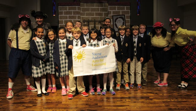 Students of St. John�s Episcopal School recently enjoyed a Young Audiences of Abilene performance by Magik Theatre.